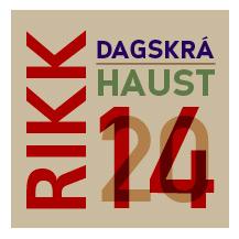 RIKK haustdagskrá 2014