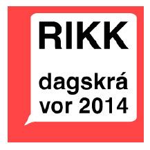RIKK vordagskrá 2014