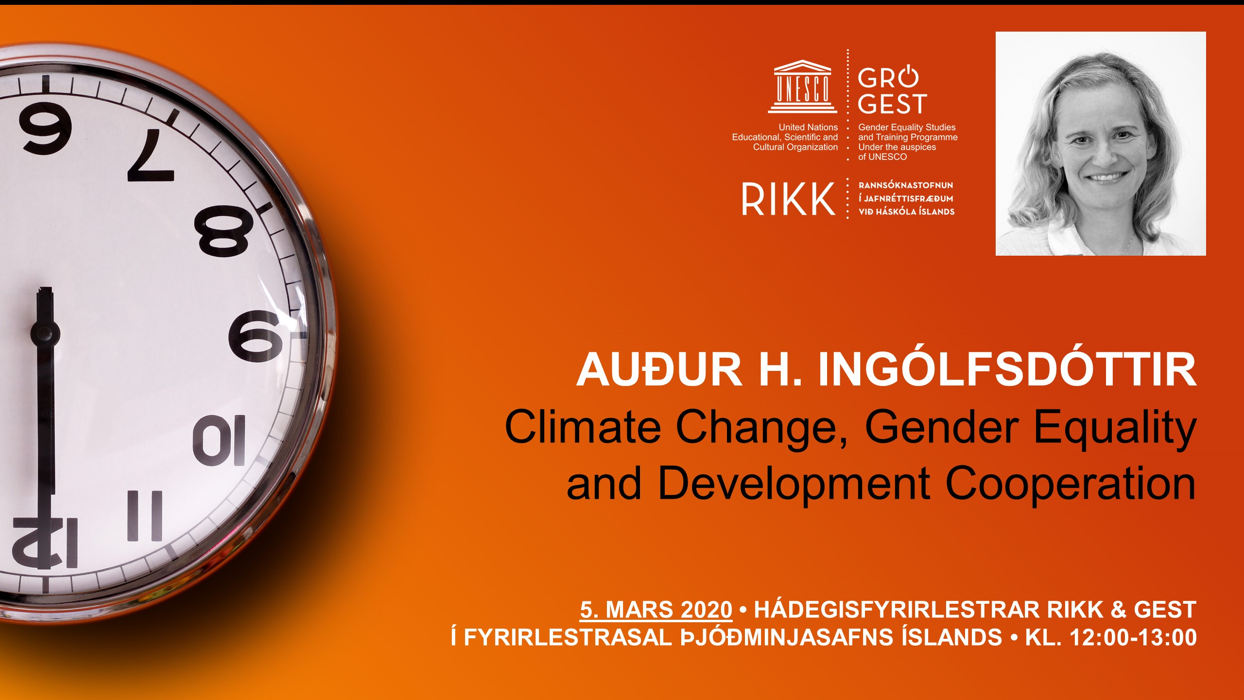 Climate Change, Gender Equality and Development Cooperation