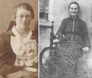 Bergný Katrín Magnúsdóttir og Guðrún Bergsdóttir