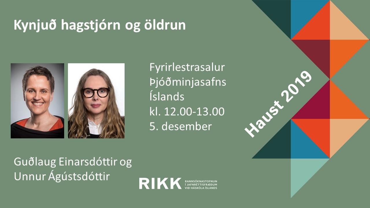 Kynjuð hagstjórn og öldrun