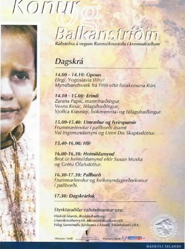 Konur og Balkanstríðin