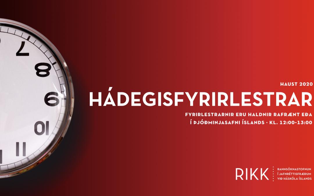 Femínísk sýn á loftslagsvandann: Hádegisfyrirlestraröð RIKK á haustmisseri 2020