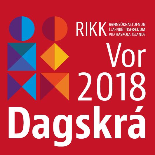RIKK dagskrá vor 2018