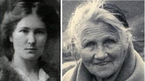 Guðrún Ámannsdóttir 1884 og Theodóra Thoroddsen 1863-1954